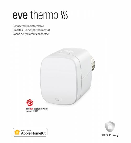 Eve Thermo (Apple HomeKit)