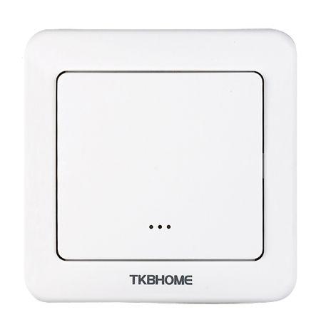 TKB Home Wandschalter mit Einfach-Wippe (Abgerundete Ecken)