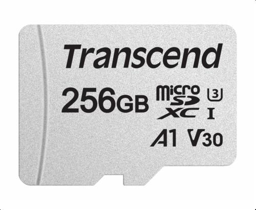 Transcend microSDXC 300S-A 256GB Class 10 UHS-I U3 V30 A1